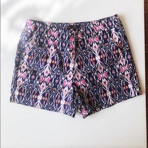 Willi Smith tribal printed shorts